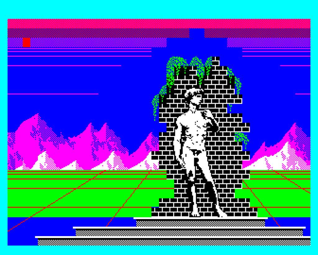 Wykorzystanie pixelartu w sztuce - Salut L'artiste (1983 Nice Ideas PhilipsVG5000) -Photo credit ✖ Daniel Rehn via Foter.comCC BY