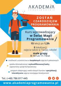 Kurs Wprowadzający w Świat Magii Programowania